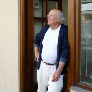 Heinz Siebauer - Goldschmied und Inhaber von APIS Schmuckatelier in München, zusammen mit Frank Rücker